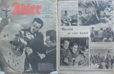 Revista aviatiei germane Luftwaffe , Der Adler , nr. 9 , 1944 , in limba romana