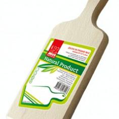 Tocator din lemn cu maner N1 28x11x1, 5cm MN011765 Raki - Tocator bucatarie