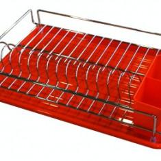 Raft pentru farfurii cu 1 etaje crom MN014573 ECE - Raft/Etajera