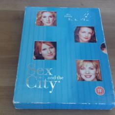 Sex and the city - Season 4 - 18 ep - DVD [B] - Film serial, Drama, Engleza