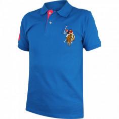 Tricou Polo barbati US POLO ASSN Logo #1000003420583 - Marime: L - Tricou barbati US Polo Assn, Marime: L, Culoare: Din imagine, Maneca scurta