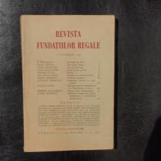 Revista fundatiilor regale no.10 Octombrie 1934