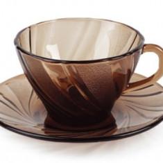 Set service cafea DURALEX seria BEAU RIVAGE CREOLE MN010239 set 12 piese Duralex