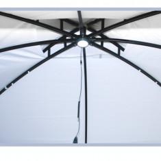 Pavilion LUX 3x3, 6m culoare alba Raki - Pavilion gradina