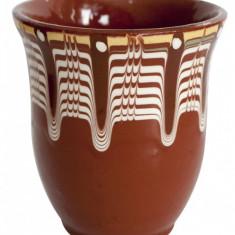 Cana ceramica, lut 250ml fara toarta Devon - Arta Ceramica