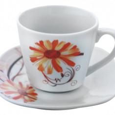 Serviciu cafea din portelan 12 piese, MN012754 Portelan