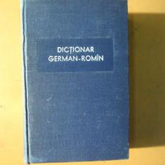 Dictionar german - roman Bucuresti 1958 M. Izbasescu