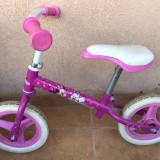 Bicicleta fara pedale Minnie Mouse 2-5 ani, 10 inch