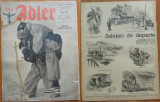 Revista aviatiei germane Luftwaffe , Der Adler , nr. 7 , 1943 , in limba romana