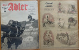 Revista aviatiei germane Luftwaffe , Der Adler , nr. 5 , 1943 , in limba romana