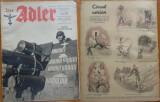 Revista aviatiei germane Luftwaffe , Der Adler , nr. 5 , 1943 , in limba romana