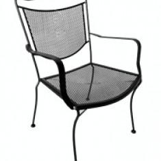 Set mobilier terasa,gradina din fier forjat ROMANCE Masa rotunda 90cm cu 4 scaune Raki