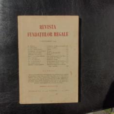 Revista fundatiilor regale no.9 Septembrie 1934