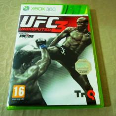 Joc UFC 3, XBOX360, original, alte sute de jocuri! - Jocuri Xbox 360, Sporturi, 16+, Multiplayer