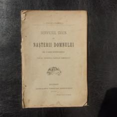 Serviciul divin al nasterii domnului - I. Popescu-Paserea - Carti de cult