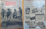 Revista aviatiei germane Luftwaffe , Der Adler , nr. 19 , 1943 , in limba romana