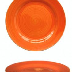 Farfurie ceramica 19cm orange Raki