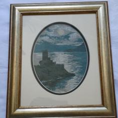 Goblen Peisaj Marin 16, 5 cm x 12, 5 cm - Tapiterie Goblen