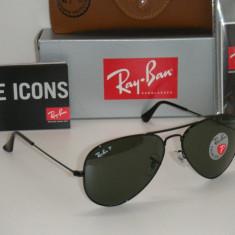 RAY BAN 3025 Aviator 002/58, 100% Originali !!! POLARIZATI, Poze Real - Ochelari de soare Ray Ban