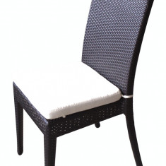 Scaun VERONA din ratan cu perna scaun JY 2201 Raki - Mobila Rattan