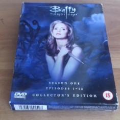 Buffy - The vampire slayer - Season one - Collector's Edition - 12ep - DVD [A] - Film serial, SF, Engleza
