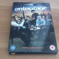 ENTOURAGE - The complete second season - 14 Ep - DVD [B] - Film serial, Comedie, Engleza