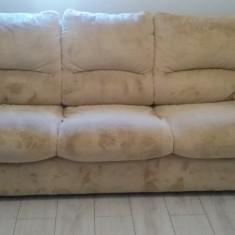 Set canapele 3, 2, 1 în stare foarte bună. - Canapea
