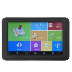 Resigilat : Sistem de navigatie GPS PNI S551 ecran 5 inch Android 512MB DDR3 8GB m, 5 inch, Fara harta