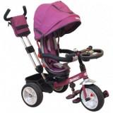 Tricicleta multifunctionala Solaris BabyMix - Violet, Baby Mix