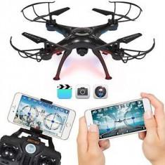 PROMOTIE!DRONA PROFESIONALA CU CAMERA VIDEO HD SI WI FI,TRANSMISIE LIVE,SIGILATA
