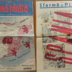 Revista Sfarma Piatra, nr. 40, 1936, Director Al. Gregorian, ziar legionar