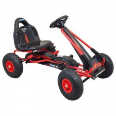 Kart cu pedale Baby Mix - Rosu - Masinuta electrica copii