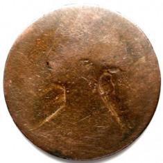 MAREA BRITANIE, VICTORIA, 1 PENNY 1869, DIAMETRU 31mm., Europa, Cupru (arama)