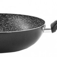 Tigaie 24cm FRIGERELLA STONE strat non-aderent, neagra fara capac Padella Frigerella