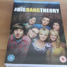 The Big Bang Theory - The Complete Eigth Season - 24 Ep - DVD [B, cd] - Film serial, Comedie, Engleza
