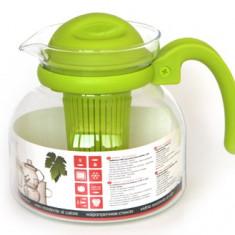 Cana din sticla termorezistenta cu filtru WOL pentru microunda Termisil - Carafa