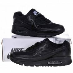 Adidasi Nike Air Max Negru Total - Adidasi barbati, Marime: 43, 44, Culoare: Din imagine, Textil