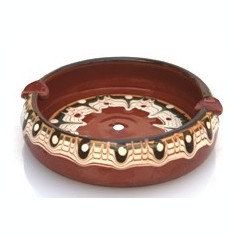 Scrumiera ceramica, lut 10cm MN016315 Devon - Arta din America