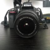 Vand Nikon D3300 + obiectiv KIT, geanta si 2 acumulatori - DSLR Nikon