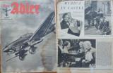 Revista aviatiei germane Luftwaffe , Der Adler , nr. 8 , 1944 , in limba romana