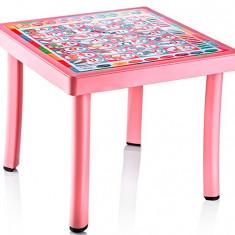 Masuta patrata pentru copii ELLIE cu décor Raki - Masuta/scaun copii