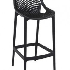 Scaun pentru bar KALINA AIR culoare neagra Siesta Exlusive - Mobila pentru baruri si cluburi