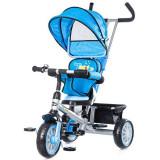Tricicleta cu copertina si sezut reversibil Chipolino Twister Blue - Tricicleta copii