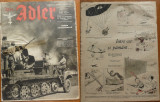 Revista aviatiei germane Luftwaffe , Der Adler , nr. 3 , 1942 , in limba romana