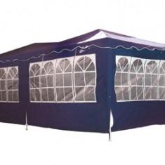 Pavilion dreptunghiular 3x6m nailon albastra cu 3 parti Raki - Pavilion gradina