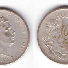 Romania 1947 - 10000 lei, argintat - Moneda Romania