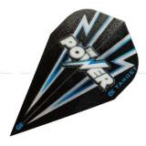 Fluturas darts TARGET POWER FLASH negru/albastru VAPOR