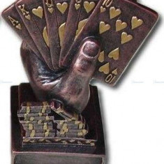 "Trofeu Poker ""Royal Flush"" bronz"