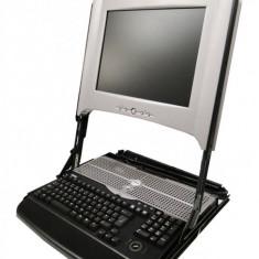 Monitor Consola Rack second hand, 1U Dell PowerEdge 15inch TFT 15FP, Fara sine