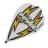 Fluturas darts TARGET POWER ARC BOLT alb/auriu VAPOR